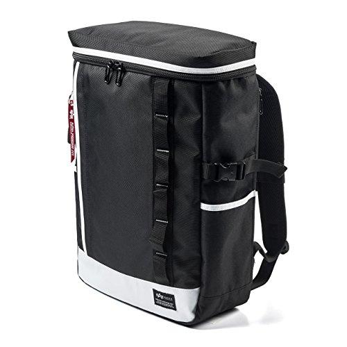 サンワダイレクト リュック ボックス型 ホワイト 200-BAGBP011W