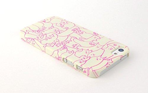 iPhone5/5s AIUEO iPhone Case NEKO PUZZLE WH S