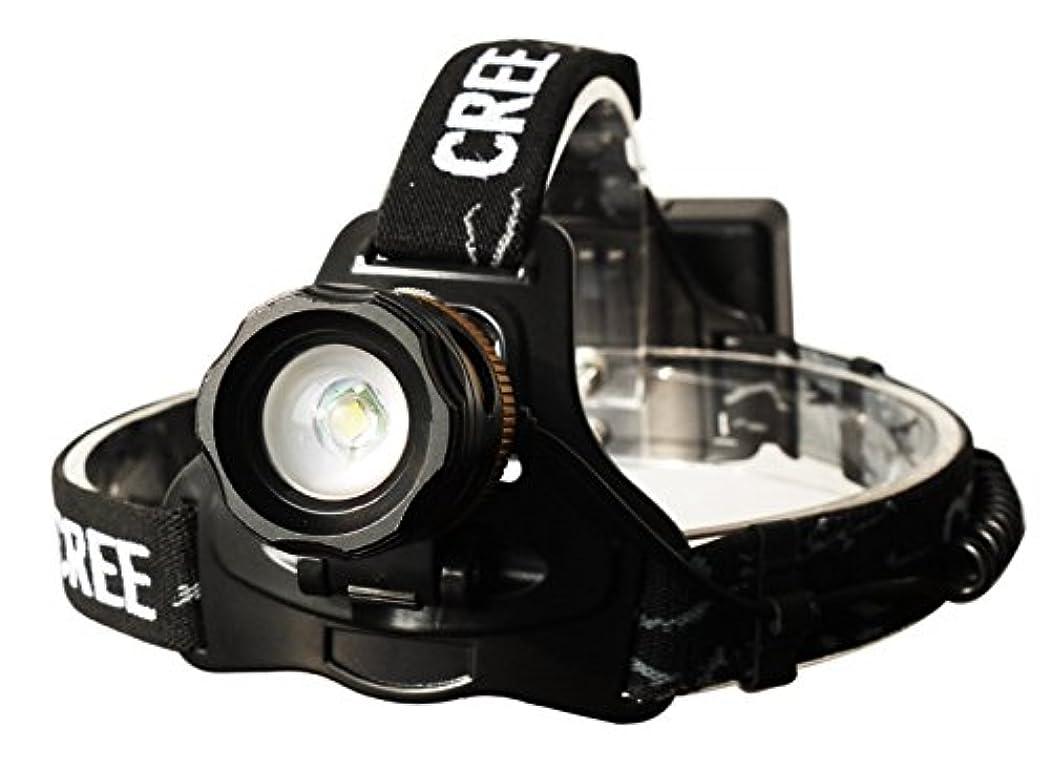 ナインへあいまいなピックGOODGOODS LED ヘッドライト 充電式 1800LM 3モード ヘッドランプ CREE XM-L T6 ズーム機能付 防水 【一年保証】 HL66
