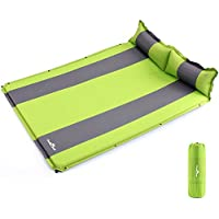 Seatopia Double Self-inflating Sleeing Pad Camping Air Mattress with Pollow