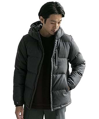 [アーバンリサーチ ドアーズ] ジャケット コート ウールダウンパーカー メンズ Charcoal 42
