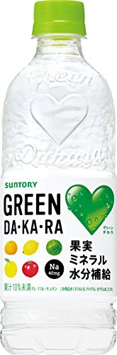 サントリー GREEN DA・KA・RA PET 540ml×24本入 グリーンダカラ