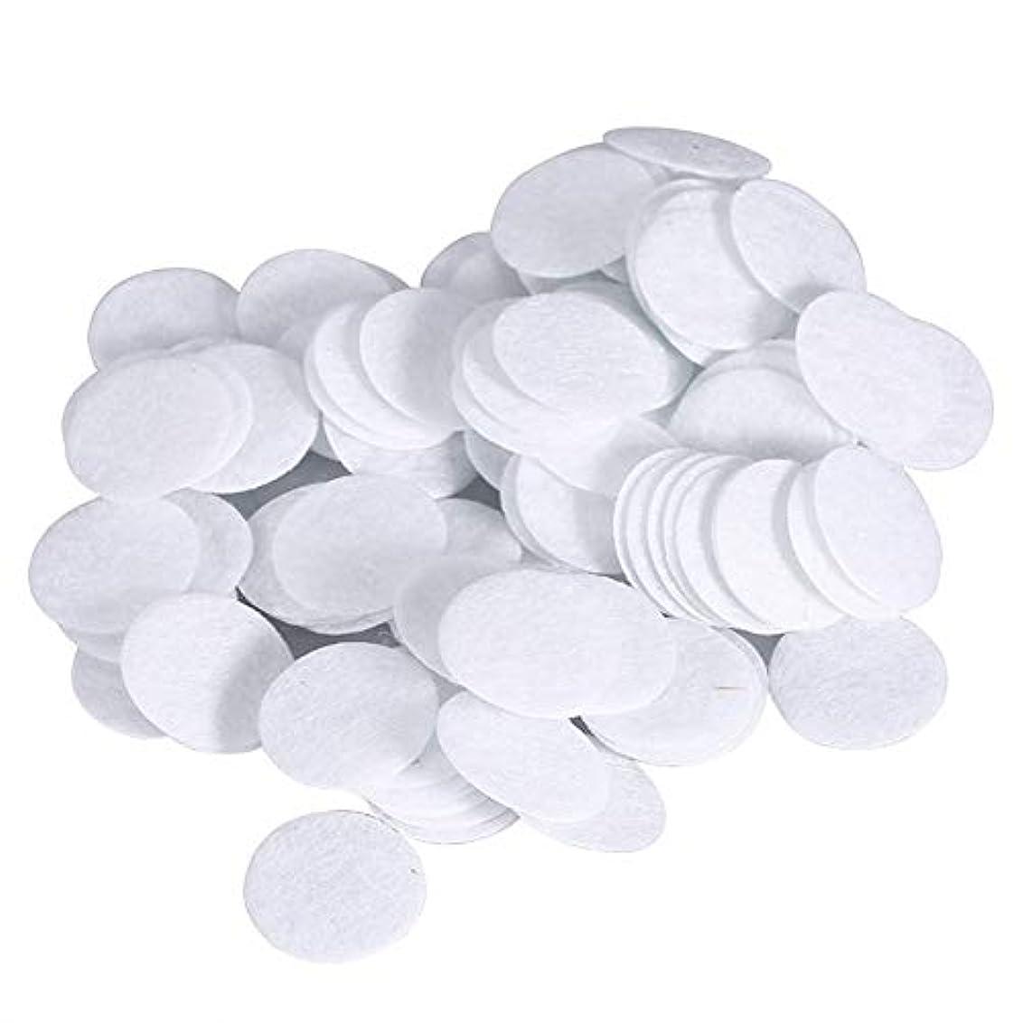 のホストシチリア優れた綿フィルターパッド にきび除去美容機用 100個 コットン 15mm