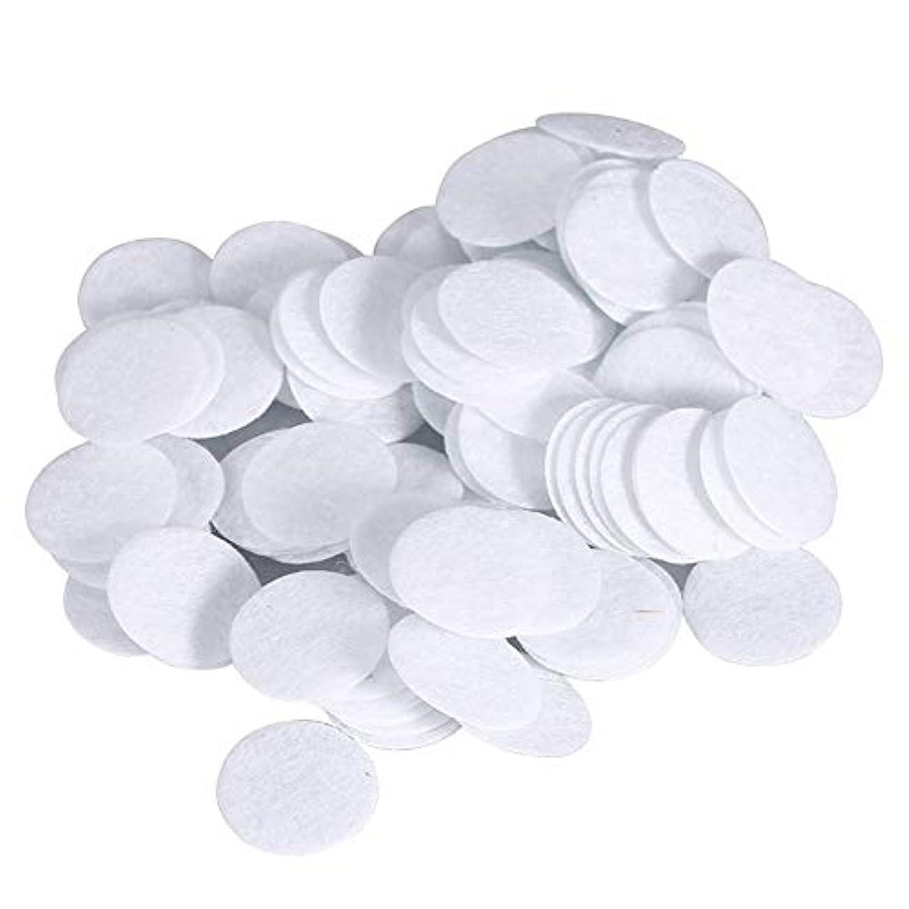 最近修復傾向綿フィルターパッド にきび除去美容機用 100個 コットン 15mm