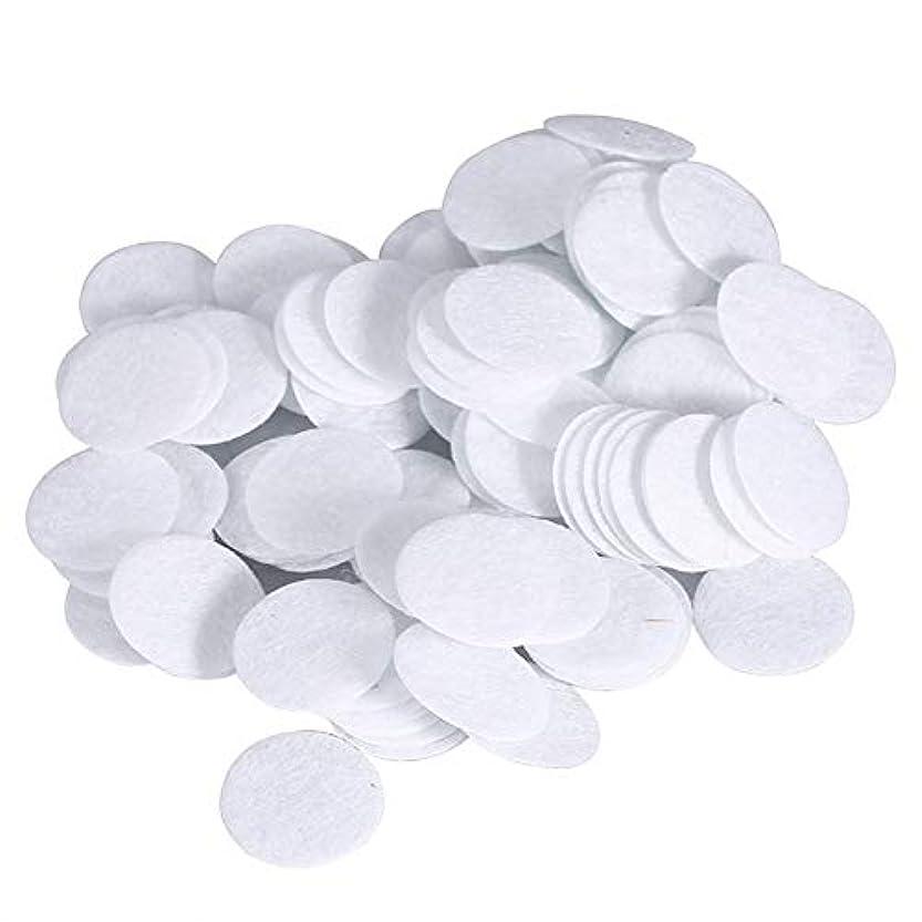 儀式調和のとれた城綿フィルターパッド にきび除去美容機用 100個 コットン 15mm