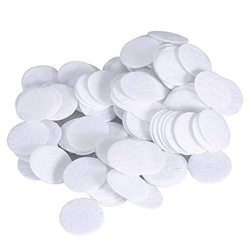 アンドリューハリディ学部長何十人も綿フィルターパッド にきび除去美容機用 100個 コットン 15mm