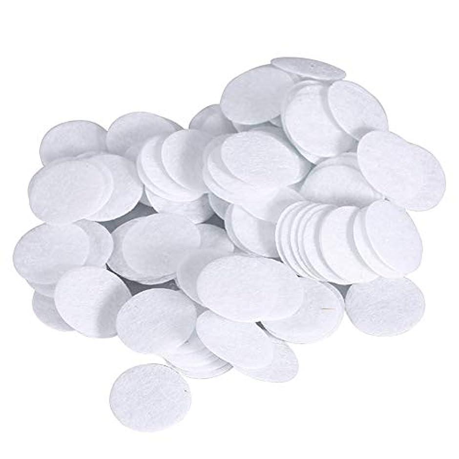 アセンブリパトロン辛い綿フィルターパッド にきび除去美容機用 100個 コットン 15mm