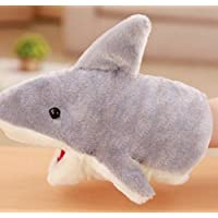 ychoice面白いFinger PuppetsおもちゃKids Animal Hand Puppets Animal Kid人形( Shark )