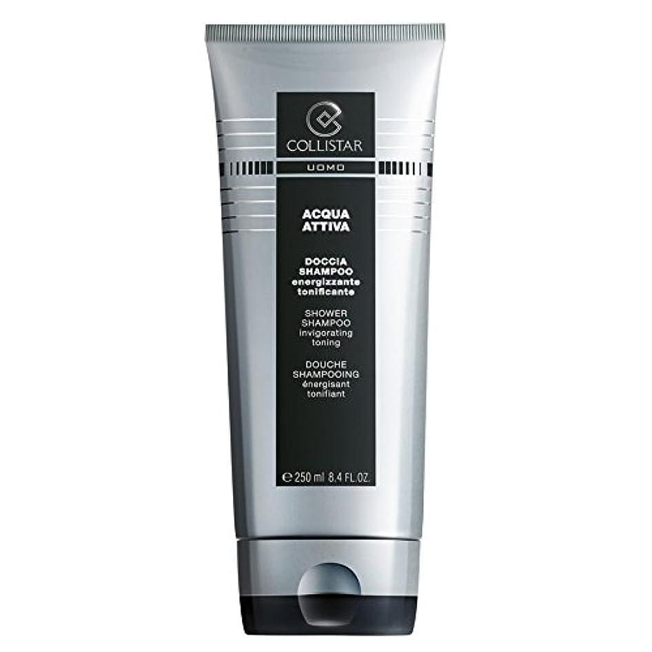手順扱いやすい美的Collistar、男性用シャワーシャンプー、250 ml -