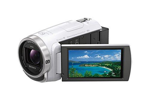 ソニー SONY ビデオカメラ Handycam HDR-CX680 光学30倍 内蔵メモリー64GB ホワイト HDR-CX680 W