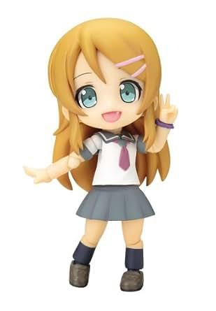 コトブキヤ キューポッシュ 俺の妹がこんなに可愛いわけがない。 高坂桐乃 ノンスケール PVC製 塗装済み可動フィギュア
