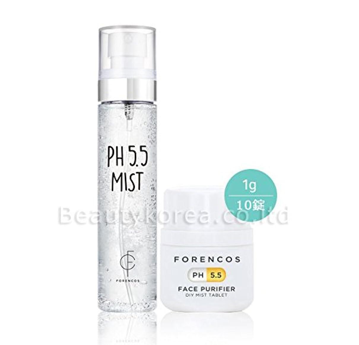 旅客保持知覚[FORENCOS] 花粉?PM2.5対策フォレンコス PH5.5フェイスピュリファイア弱酸性ミスト PH5.5 Purifier Mist [並行輸入品]