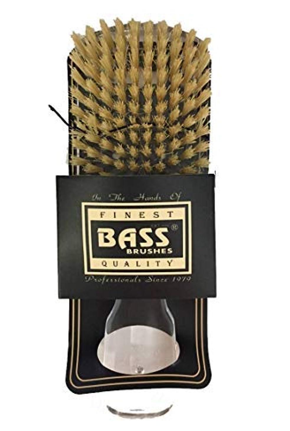 中絶さらに好ましいBrush - Classic Mens Club (Soft) 100% Soft Wild Boar Bristles Acrylic Handle (Assorted Handle Colors) [並行輸入品]