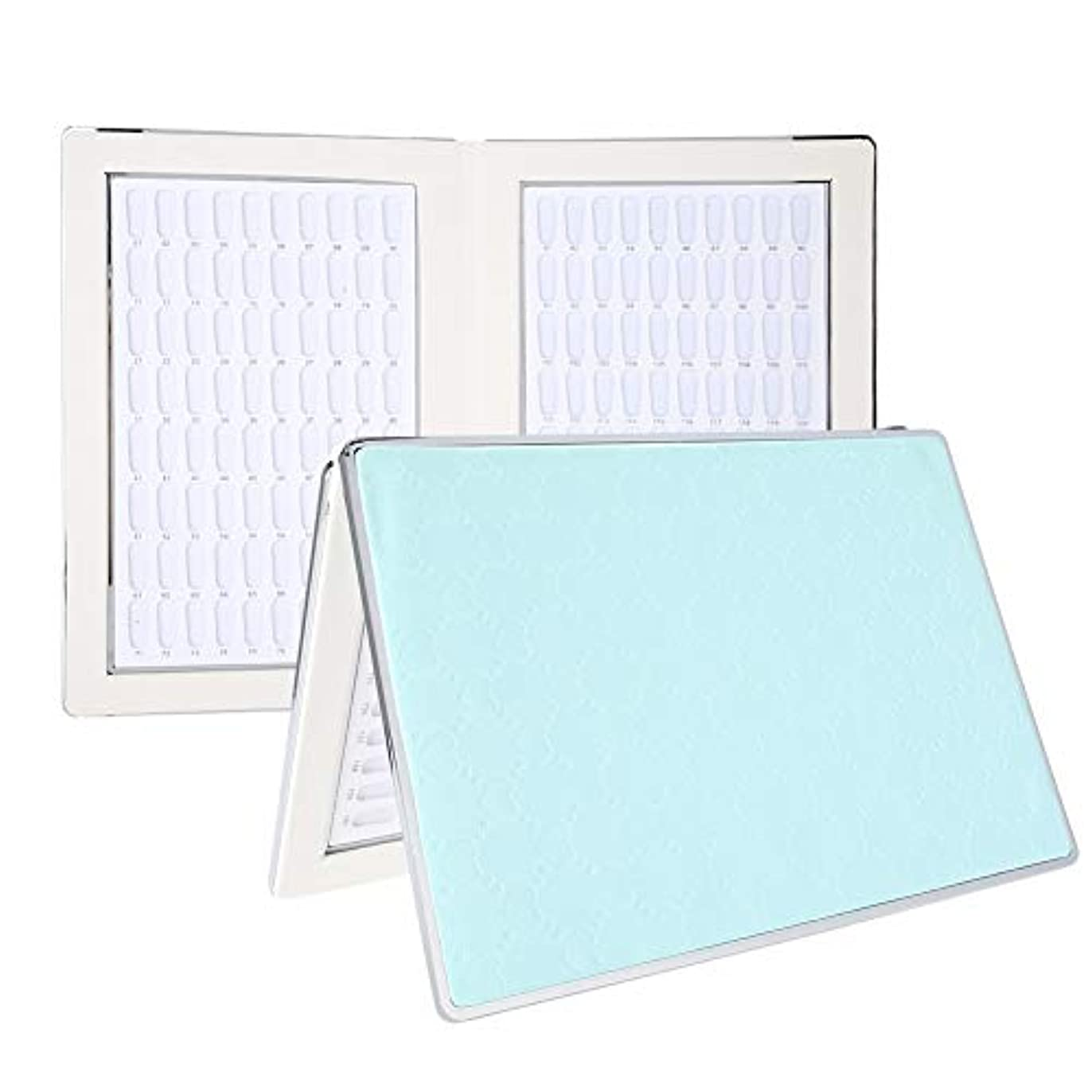 ヒロイック放棄する放出ネイルアートディスプレイ 160 ディスプレイスタンド アクセサリー プラスチック板 ネイルポリッシュカラー ディスプレイ サロン (2)