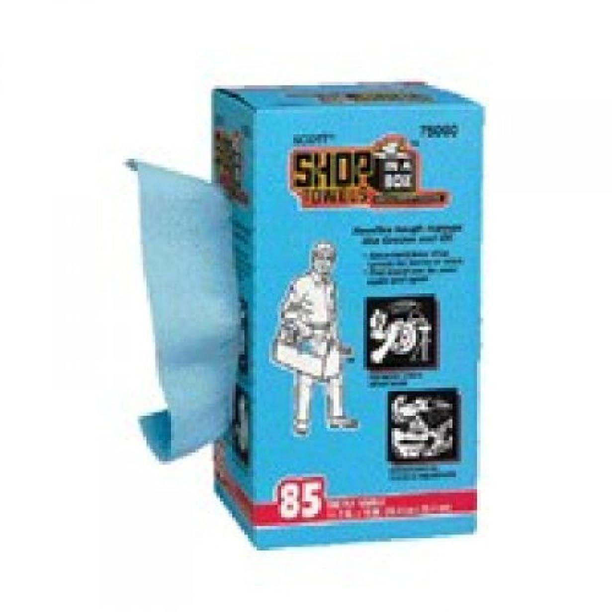 フィヨルド呼吸するチャットSCOTT ショップタオル ブルーBOX 85カット 65910