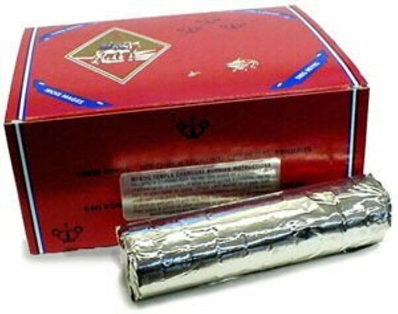 フェードアセ曇ったThree Kingsチャコール – 40 mm ( Large ) – シングルロールの10 Tablets