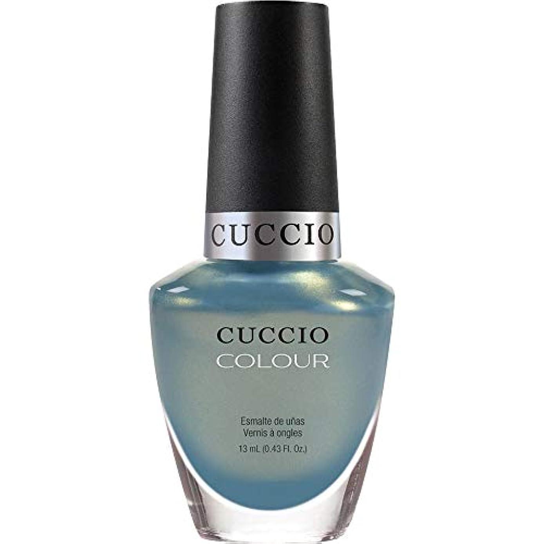 びっくりした薬両方Cuccio Colour Gloss Lacquer - Shore Thing - 0.43oz / 13ml