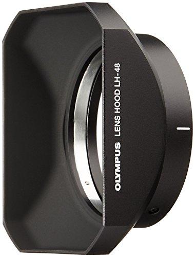 OLYMPUS 単焦点レンズ M.ZUIKO DIGITAL ED 12mm F2.0用 メタルレンズフード LH-48 BLK