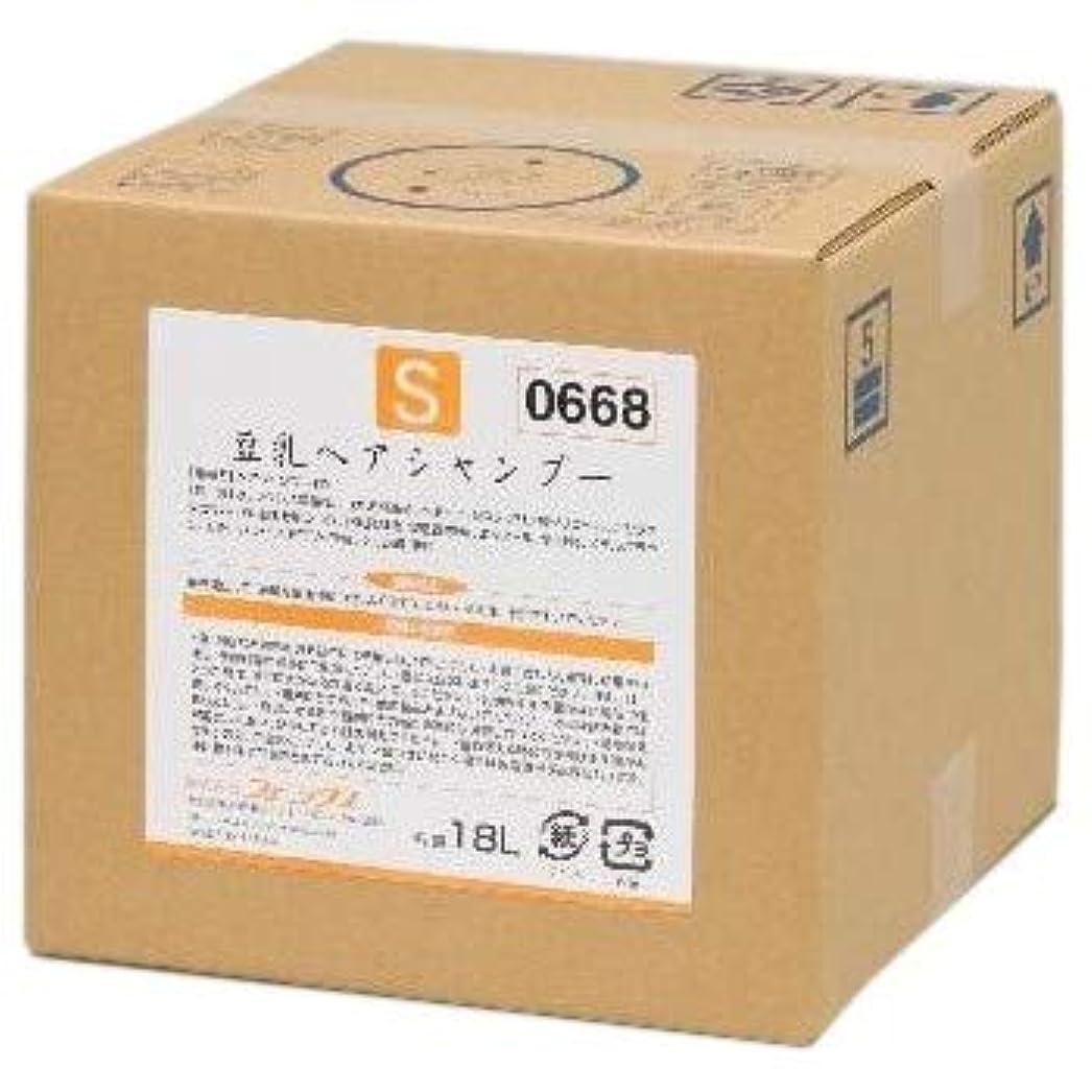 ベース経営者毒豆乳ヘアシャンプー 18L 1個