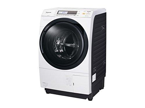 パナソニック 10.0kg ドラム式洗濯乾燥機【左開き】クリスタルホワイトPanasonic エコナビ NA-VX7500L-W