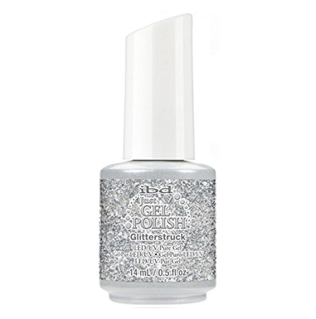 こどもセンター何でも細断ibd Just Gel Polish - Diamonds+Dreams Collection - Glitterstruck - 14 mL / 0.5 oz