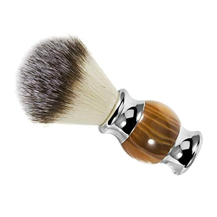 無し扇動する巡礼者シェービングブラシ ひげ剃りブラシ 口ひげブラシ 理髪サロン 髭剃り ひげ剃り 泡立ち