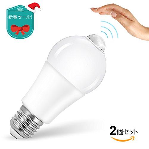 「在庫一掃SALE!」LED電球 LEDランプ 人感センサー...