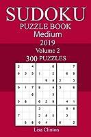 300 Medium Sudoku Puzzle Book, 2019