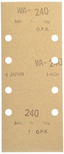 マキタ サンディングペーパー #240 93×228mm クランプ式 (10枚入) A-31289