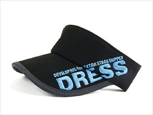 ドレス(DRESS) サンバイザー LD-OP-0561 ブラック/ブルー