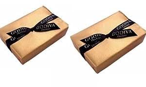 GODIVA(ゴディバ) ゴールドバロティン 6粒 (2箱) 全包装・手提げ付き [並行輸入品]