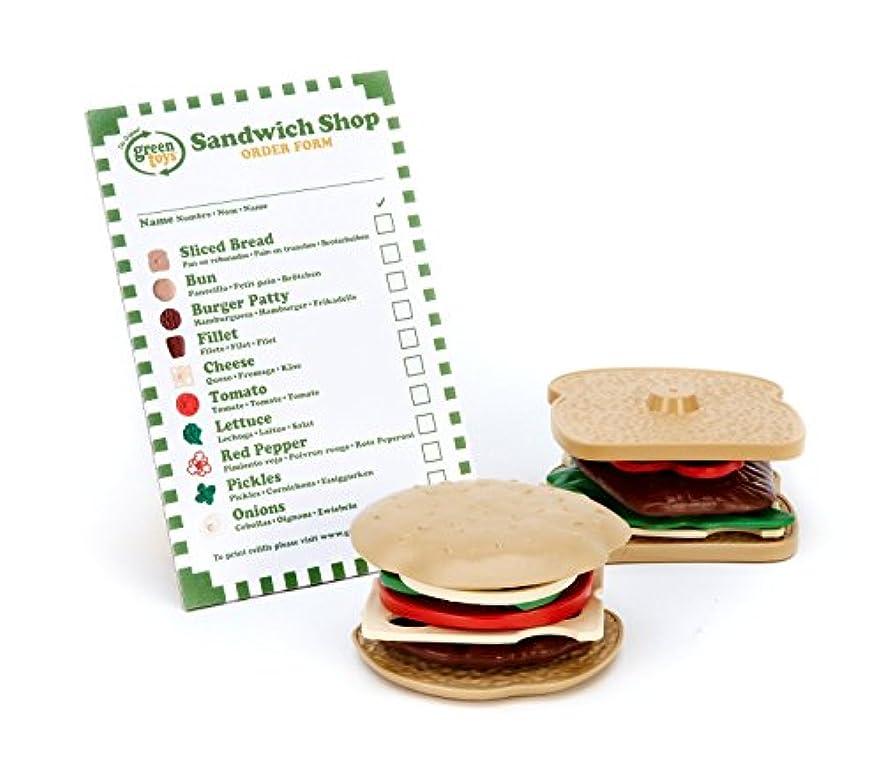 小切手ドラマ掘るGreen Toys (グリーントイズ) サンドイッチ ショップ