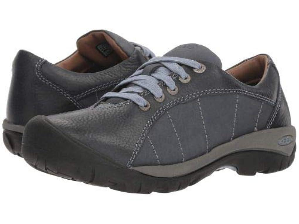 加害者教師の日称賛Keen(キーン) レディース 女性用 シューズ 靴 スニーカー 運動靴 Presidio - Flint Stone/Steel Grey [並行輸入品]