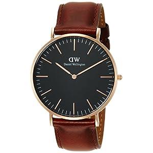 [ダニエル・ウェリントン]DanielWellington 腕時計 Classic Black St.Mawes ブラック文字盤 DW00100124 メンズ 【並行輸入品】