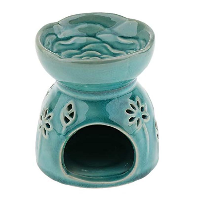 巻き戻す何民族主義Perfeclan 全2色 アロマディフューザー エッセンシャルオイルディフューザー バーナー 陶器 置物 インテリア - 青