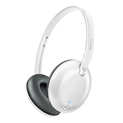 Philips SHB4405WT FliteワイヤレスBluetoothヘッドフォン SHB4405 White 並行輸入品