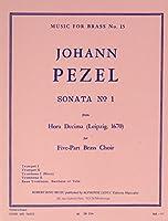 Johann Christoph Pezel: Sonata No.1 (Brass Quintet) (Score/Parts). For 金管五重奏