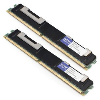 AddOn 16GB Factory Original RDIMM for HP AM324A - DDR2 - 16 GB : 2 x 8 GB - DIMM 240-pin - 667 MHz / PC2-5300 - CL5 - 1.8 V - registered - ECC - for HPE Integrity BL870c