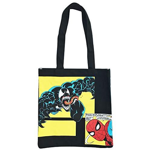 MARVEL カラートートバッグ スパイダーマン&ヴェノム ...