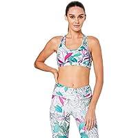 Dharma Bums Women's Narrow Back Muscle Crop Sport Bra