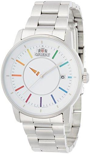 [オリエント]ORIENT 腕時計 スタンダード STYLISH AND SMART スタイリッシュ アンド スマート DISK ディスク WHITE RAINBOW 自動巻き WV0821ER メンズ
