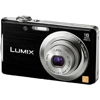 Panasonic デジタルカメラ LUMIX FH5 ブラック DMC-FH5-K
