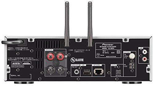 Pioneer ネットワークCDレシーバーシステム ハイレゾ音源対応 シルバー X-HM76(S)