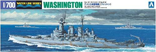 1/700 ウォーターライン No.612 アメリカ海軍戦艦 ワシントン