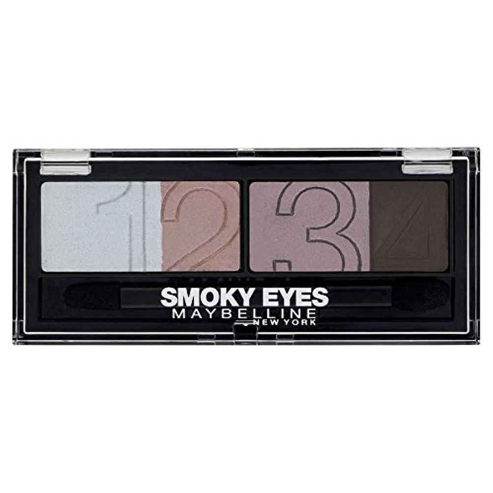 継承バースト木材Gemey-Maybelline - Eyestudio Palette Smoky Eyes