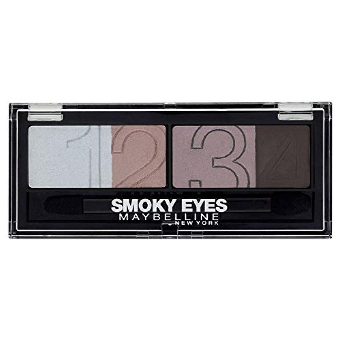 地域実用的手荷物Gemey-Maybelline - Eyestudio Palette Smoky Eyes