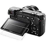 for Sony Alpha A6500 A6400 Camera スクリーンプロテクター、[2パック]ソニーアルファa6400用クリスタルクリアスクリーン強化ガラス保護フィルム