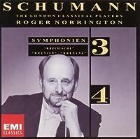 シューマン:交響曲第3番&第4番