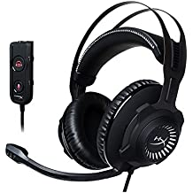 HyperX Cloud Revolver S ゲーミングヘッドセット USBオーディオコントロールボックス付属 ブラック/ホワイト PS4/PC/Xbox/Switch/スマホ HX-HSCRS-GM/AS