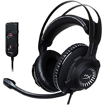 キングストン ゲーミングヘッドセット HyperX Cloud Revolver S HX-HSCRS-GM/AS ブラック/ホワイト USBオーディオコントロールボックス付属
